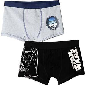Star Wars Stormtrooper Men's 100% Cotton Boxers Shorts Hipsters Underwear 2-PACK
