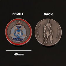 Western Australia Mounted Police Challenge Coin (social)