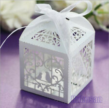 Colorful Birdcage Favour Chocolate Box Wedding Party Bomboniere Candy Gift