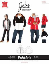 Jalie 3884 Frederic Hoodie Sewing Pattern in 27 sizes - Men's XS-XXL, Boys' 2-13