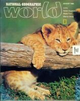 National Geographic World Magazine 1986 August