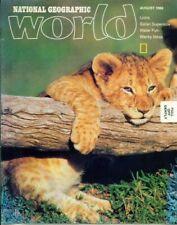 National Geographic World Magazine 1986 August