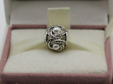 AUTHENTIC PANDORA Luminous Love Knot, White Crystal Pearl, 792105WCP  #486