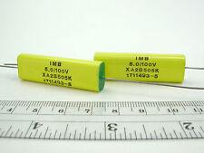 2pcs IMB 5uF 100V XA Series 10% Audio Coupling Cap Matched Pair