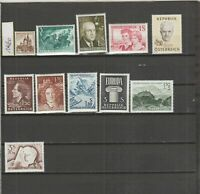 AUSTRIA - 1960 to 1969 - MINT/NH - Free Shipping
