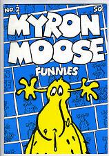 MYRON MOOSE #2 - Comix - Toth - 1st printing