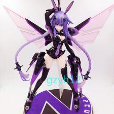 "NEW Hyperdimension Neptunia Victory Neptune Purple Heart Figurine Figure 7.87"""
