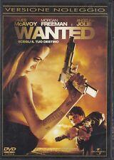WANTED (2008) DVD - EX NOLEGGIO