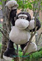 Giant Big 32'' Monkey Stuffed Wild Gorilla Friends Animal Soft Plush Doll Toy us