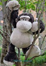"32"" Giant Large Wild Friends Monkey Stuffed Animal Plush gorilla Toy Doll gift"