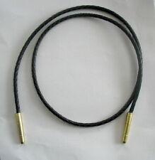 Bolotie Riemen Cords Leder mit Spitzen Tie Tips Bullet Western Cowboy USA  271