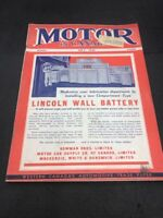 MOTOR IN CANADA JULY 1940 Magazine  Car And The Add Are Really Lovely