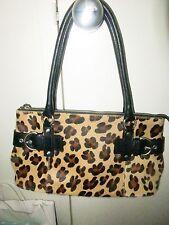 Nicole Miller Leopard Print Bag