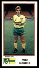Panini Football 83 - Mick McGuire Norwich City No. 189