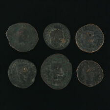 Ancient Coins Mixed Figural Roman Artifacts Lot of 6