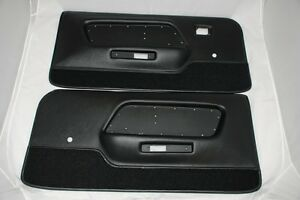 1969 Mustang Deluxe Door Panels Boss 302, Shelby, and Mach 1