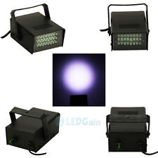 Mini DJ Strobe Light Flash Light Club Stage Lighting Party Disco 24 LED Bulb USA
