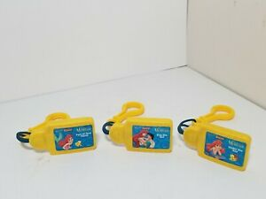 Lot of 3 Disney Tunes Kid Clips The Little Mermaid - Kiss the Girl Under The Sea