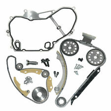 Engine Timing Chain Kit & Metal Cover For Vauxhall Opel Fiat Croma Antara A24XE