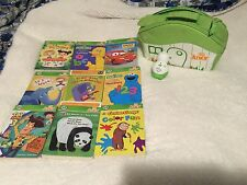 Leap Frog Tag Junior (9) Books Set Carrying Case EUC