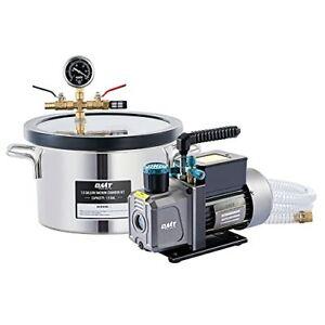 1.5 Gallon Vacuum Chamber Kit and 38 Micron