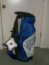 New listing New Michelob Ultra 14 Way 8 Pockets light Weight Rain Cover Golf Bag Stand Bag