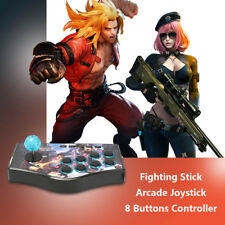 Arcade Street Fighter Game Controller Joystick Gamepad USB Cable For PC PS2 PS3