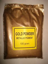 GOLD POWDER PIGMENT.  100g CUSTOM MAKE PAINT EFFECT, embossing FREE SHIPPING