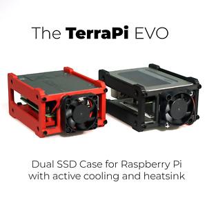 TerraPi EVO Complete Raspberry Pi SSD Case Solution