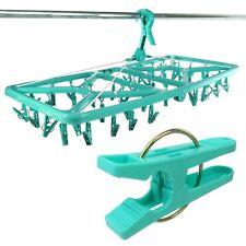 Hangerworld™ 42 Peg Plastic Foldable Sock Underwear Dryer Laundry Clothes Airer