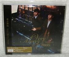 TOHOSHINKI Very Merry Xmas 2013 Taiwan Ltd CD+DVD+Card (DBSK TVXQ)
