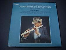 Georg Philipp Teleman, Trios Recorder & Traverse Flute,Frans Bruggen,2PAL-2002