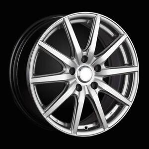 """4 x BK792 Vortex 18"""" Alloy Wheels & Tyres Vauxhall Astra 5x105 2009> On"""