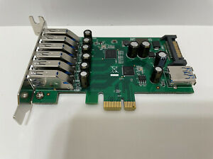STARTECH.COM 7 PORT PCIE USB 3.0 ADAPTER CARD LOW PROFILE PEXUSB3S7