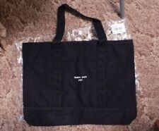 MICHAEL KORS XOXO BLACK CANVAS SHOPPING TOTE-NEW