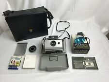 POLAROID Automatic 103 Instant Land Camera with Case Manual Flashbulbs Flashgun
