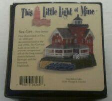 Harbour Lights Lighthouse - Sea Girt, Nj, This Little Light of Mine, Nib, 2004