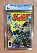 G.I JOE A REAL AMERICAN HERO #27 Origin SNAKE-EYES STORM & SHADOW, CGC 8.0