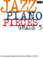 JAZZ PIANO PIECES   ABRSM   GRADE 5  Exam Music Book
