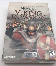 Medieval Total War: Viking Invasion - PC Video Games - Brand New