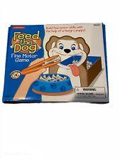 Lakeshore Feed The Dog Fine Motor Game Dog Bones Tweezer Educational