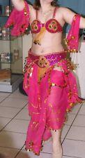 Costume de danse orientale rose