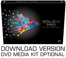 Editing software - EDIUS X Pro (Serial code)