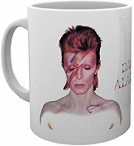OFFICIAL DAVID BOWIE ALADDIN SANE COFFEE MUG CUP NEW IN GIFT BOX GB