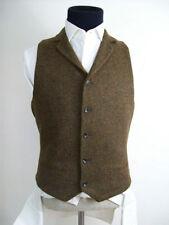 Topman Wool Patternless Waistcoats for Men