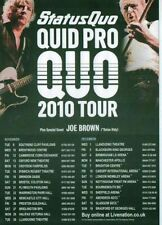 Status Quo Rock Music Flyers & Postcards
