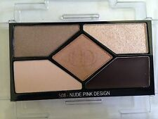 Christian Dior 5 Shades Eye Shadow Palette #508 Nude Pink Design Full Size