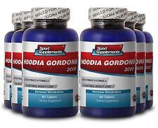 Fat Burning Cream Tabs - Hoodia Gordonii Cactus 2000mg - Weight Loss Herbs 6B