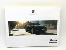 New Genuine Porsche Macan S Diesel Turbo Drivers Manual In German WKD95B020117