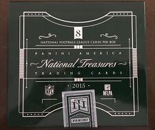 2015 Panini National Treasures Football EMPTY Cigar Box